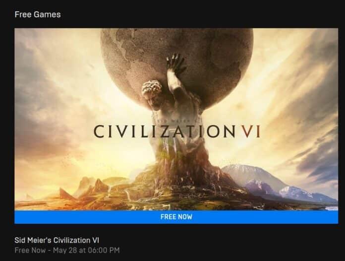 civilization vi giveaway