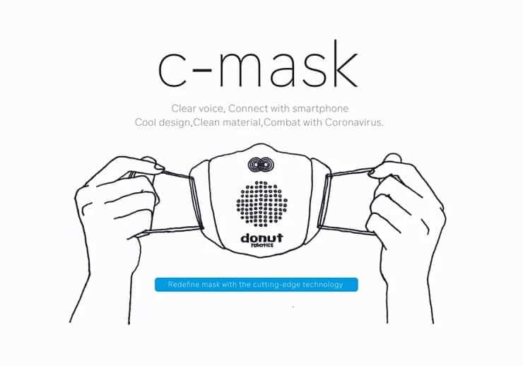 έξυπνη μάσκα για τον κορονοϊό
