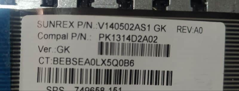 πληκτρολόγιο για hp 15-g001sv