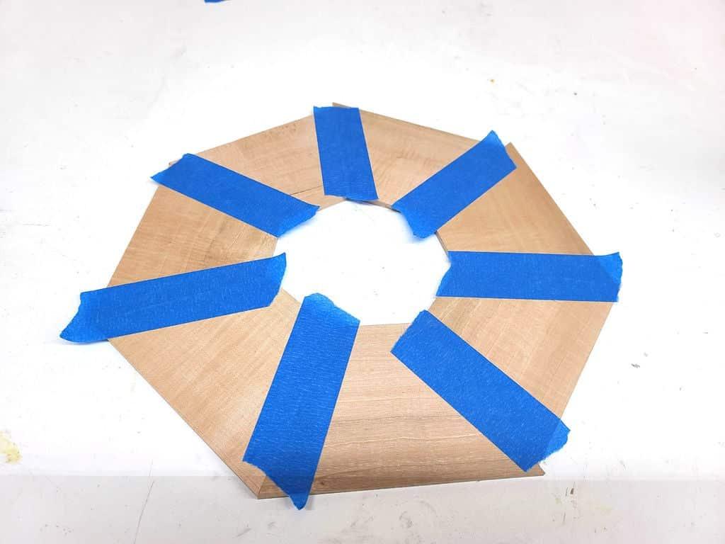 κομμάτια κομμένα για κύκλο