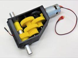 DIY μειωτήρας μοτέρ