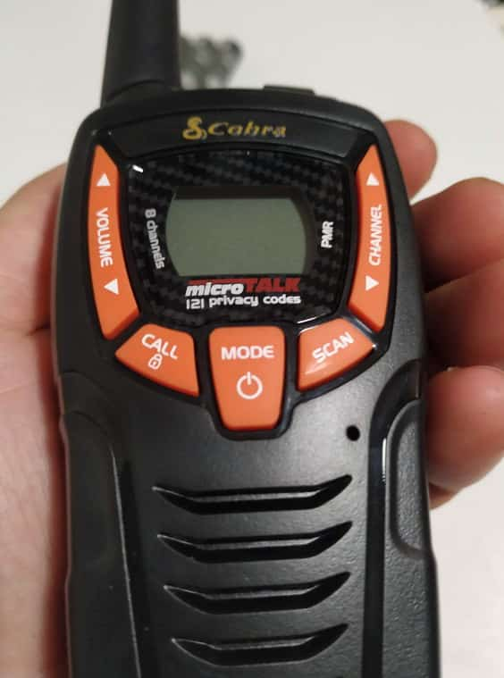 cobra walkie talkie am645