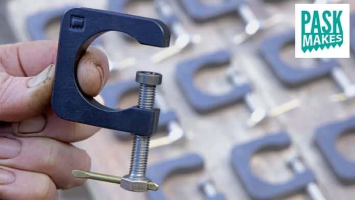 DIY σφιγκτήρας τύπου C από μασίφ ατσάλι